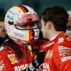Sebastian Vettel consuela a Charles Leclerc en el GP de Baréin F1 2019 - SoyMotor