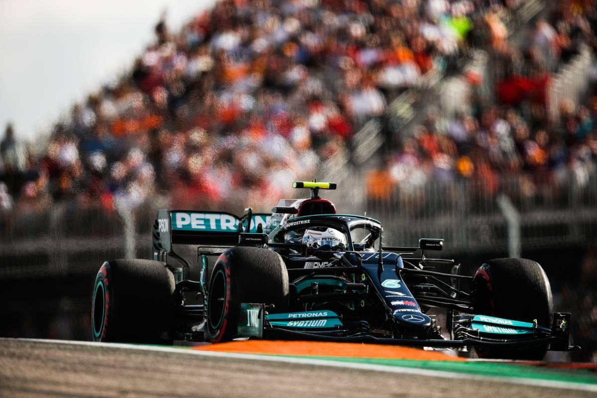 Valtteri Bottas en el GP de Estados Unidos F1 2021 - SoyMotor.com