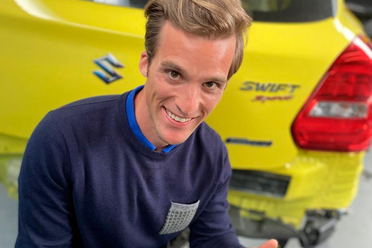 Un Suzuki Swift, primer híbrido en un rally europeo - SoyMotor.com