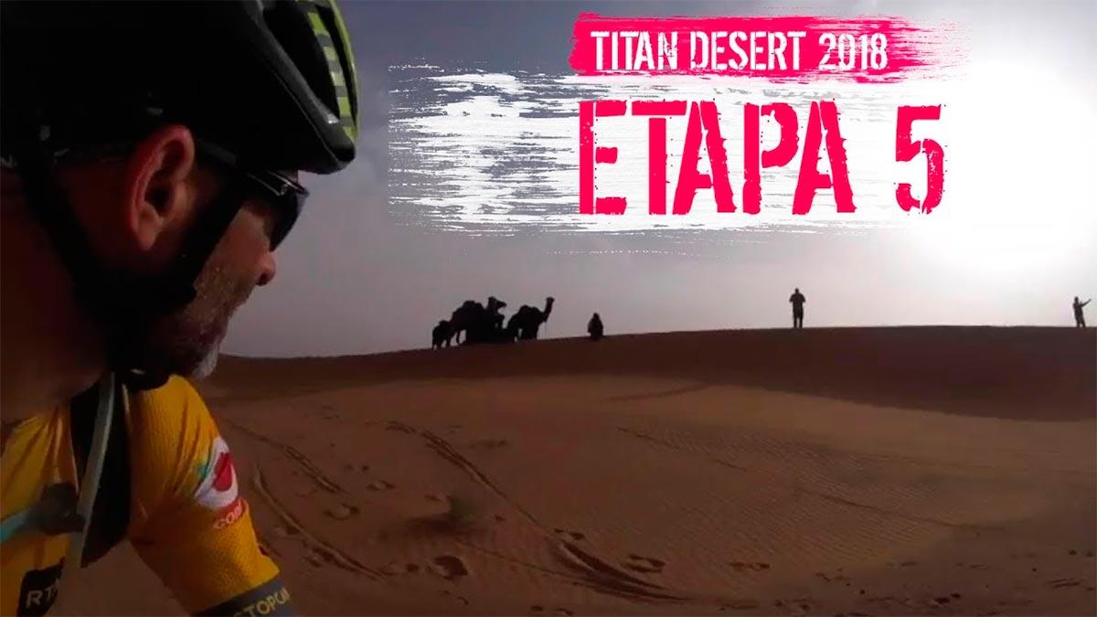 Titan Desert 2018 - Etapa 5