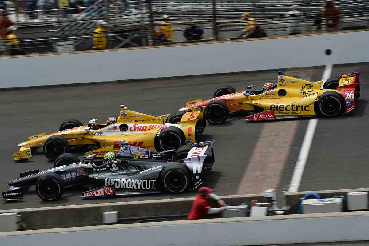 La velocidad en Indy empieza donde en Europa acaba