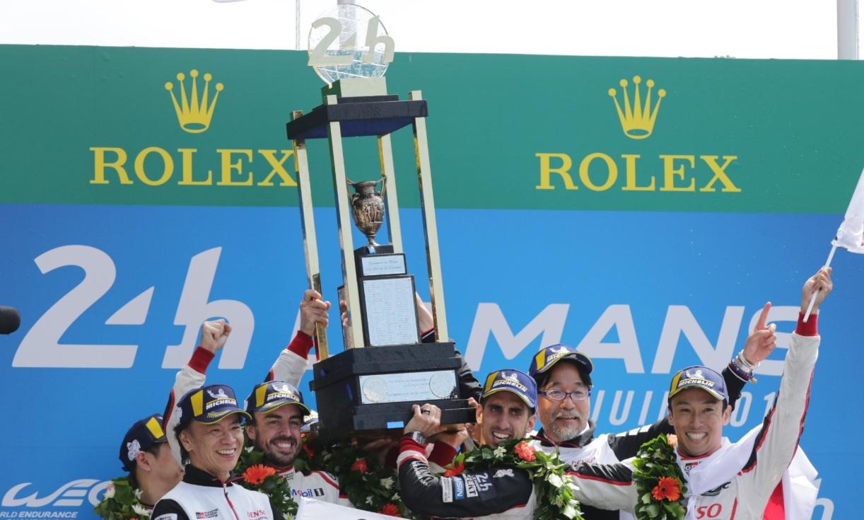 El equipo Toyota en Le Mans - SoyMotor.com