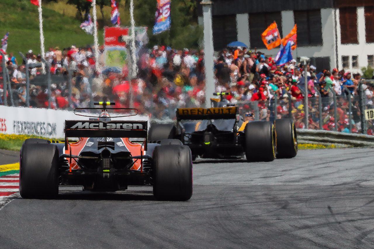 Traseras de los coches de F1 en Austria – SoyMotor.com
