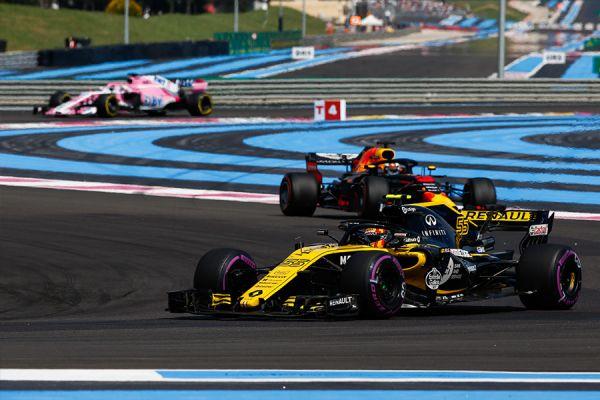Resultado de imagen de gp francia 2018 f1 salida