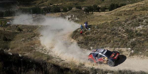 Carlos Sainz y Lucas Cruz en La Baja Aragón 2016