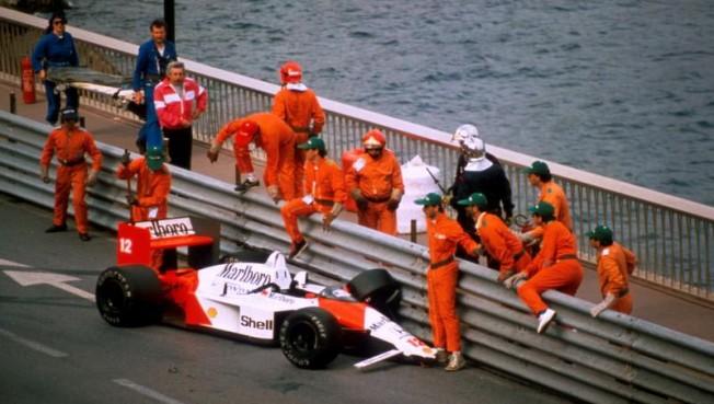 Accidente de Ayrton Senna en el GP de Mónaco F1 1988