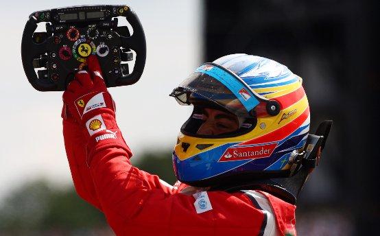 Fernando Alonso gana en Silverstone 2011