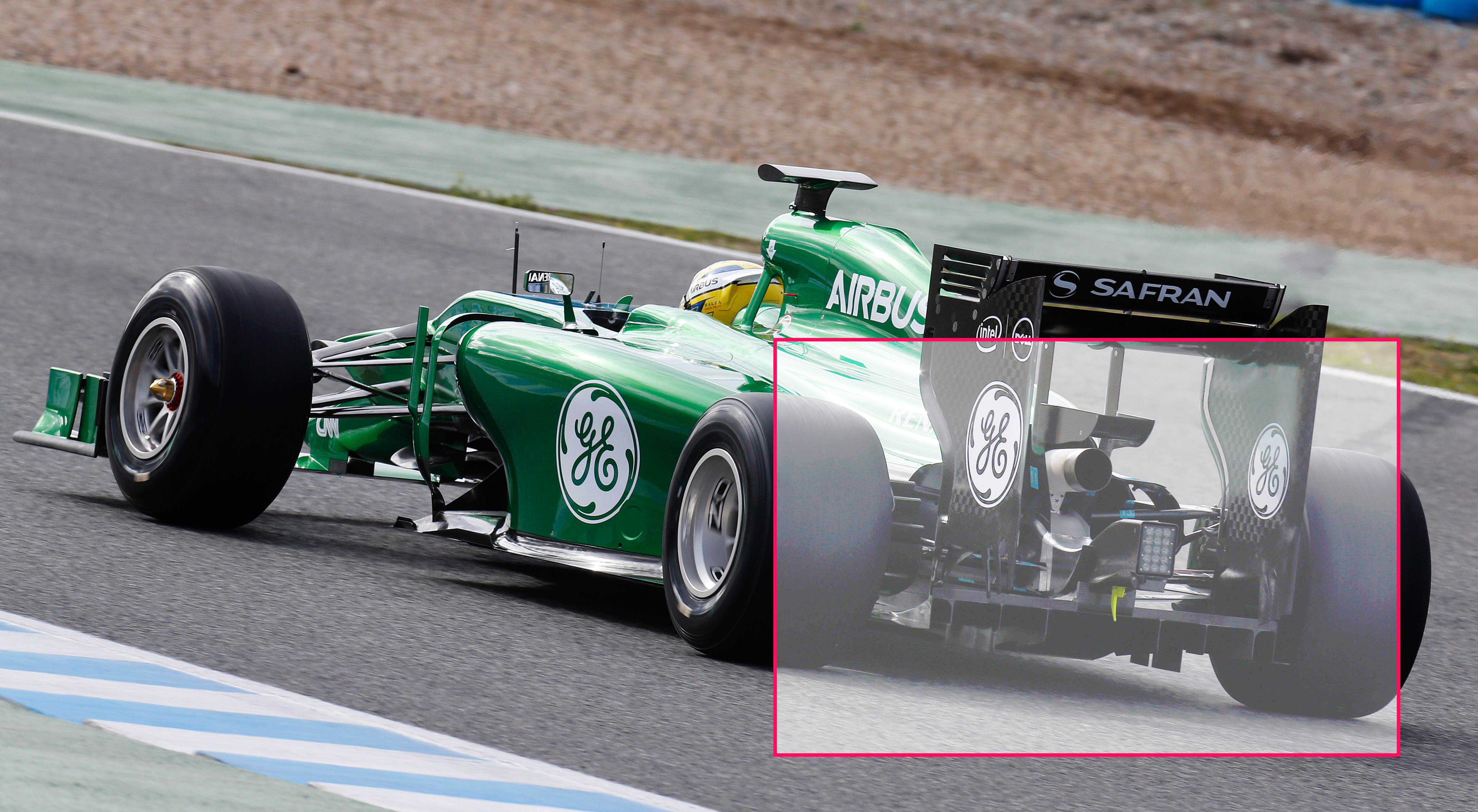 Caterham CT05 en Jerez