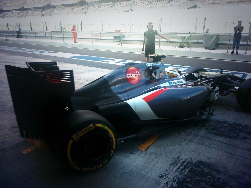 Marcus Ericsson en el Sauber C33
