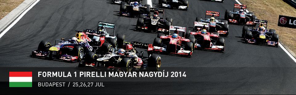 Forma 1 - Pirelli Magyar Nagydíj 2015