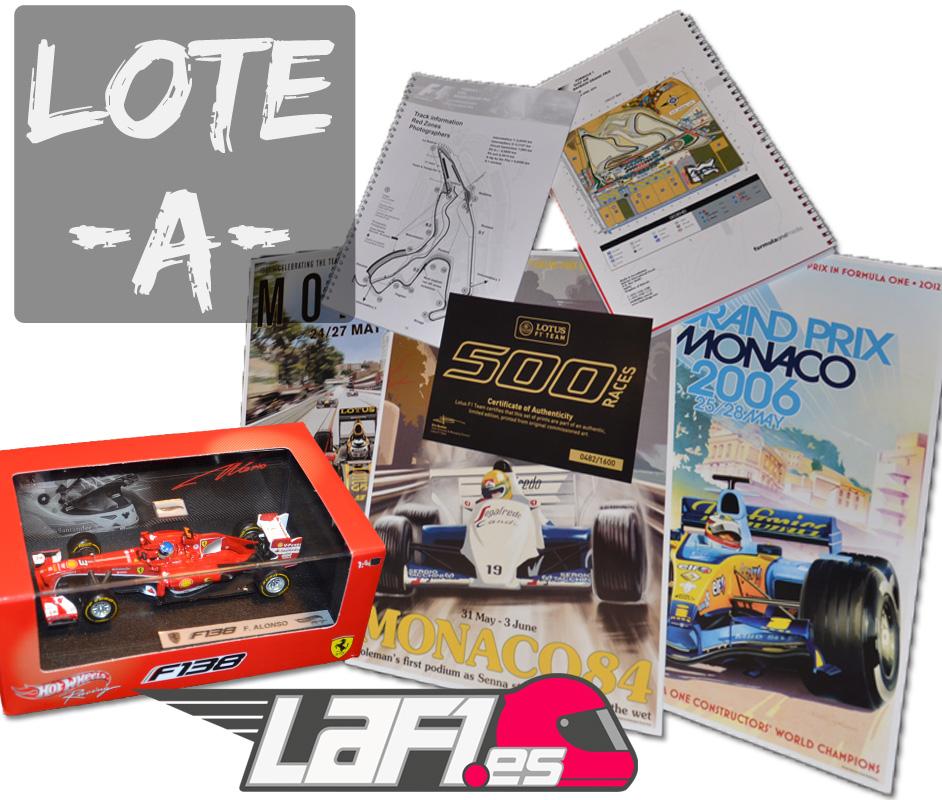 Lote A Concurso LaF1.es