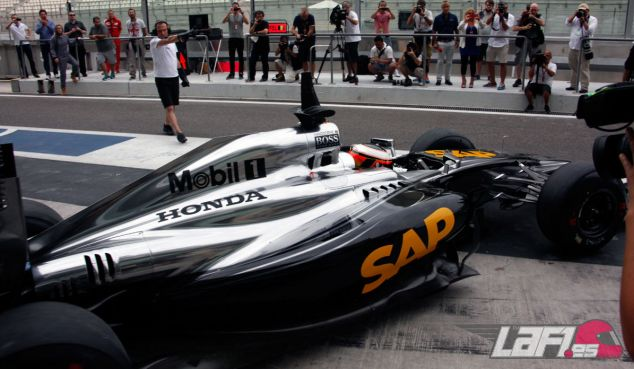 El McLaren Honda MP4-29H