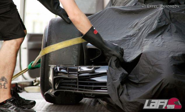 Detalle del McLAren Honda MP4-29H