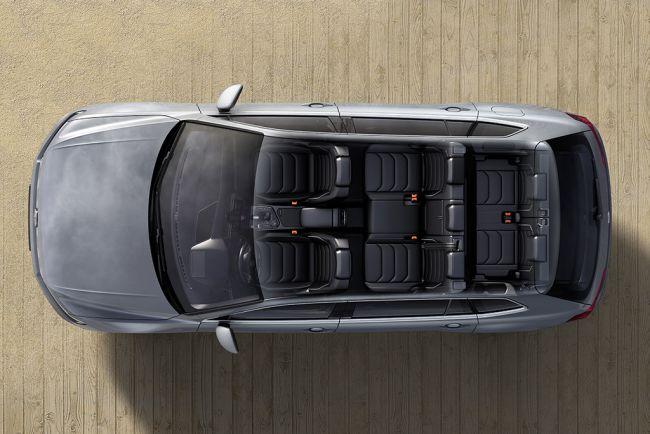 Espacio interior VW Tiguan Allspace