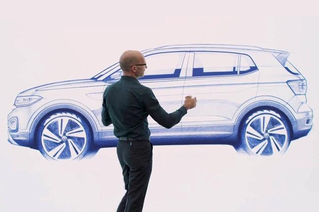 Volkswagen publicó el primer teaser del T-Cross — Anticipo