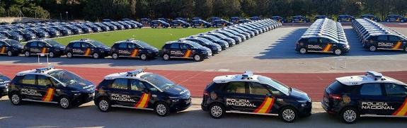La Polic A Nacional Estrena 942 Citro N C4 Picasso