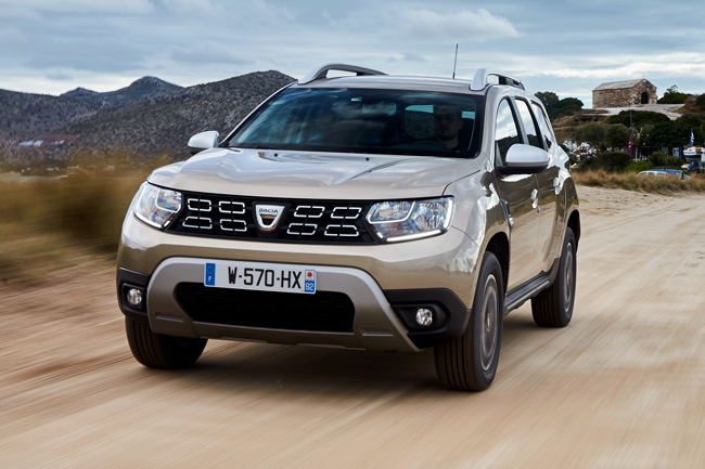 dacia duster 2018 estrena motor de gasolina 1 3 tce. Black Bedroom Furniture Sets. Home Design Ideas