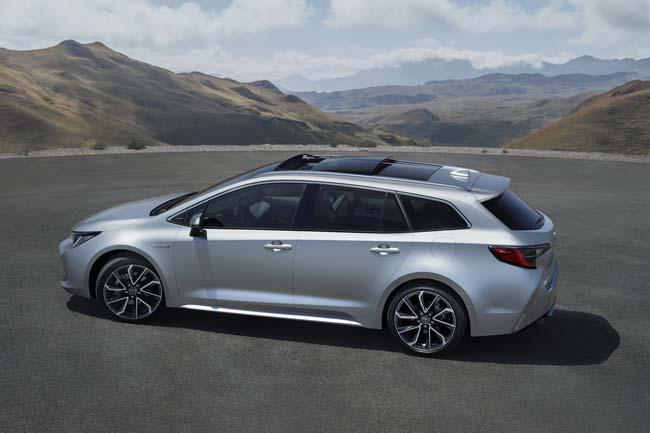 Toyota desvelará en el Salón de París el Corolla hybrid Touring Sports