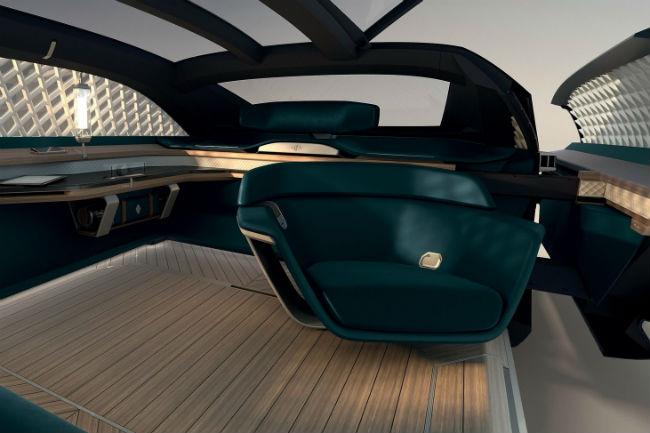 El lujo hecho coche autónomo — Renault EZ-Ultimo