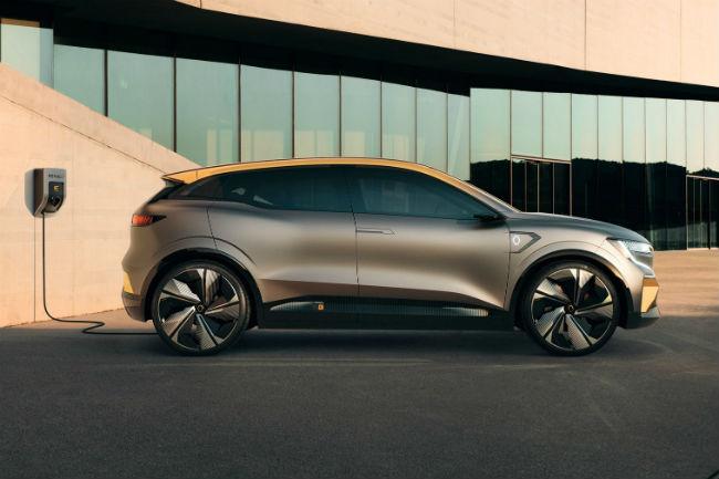 Renault Mégane eVision: la nueva era eléctrica de la marca del rombo