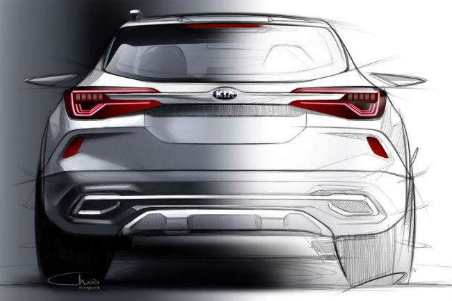 Kia mostró la primera imagen de su nuevo SUV compacto
