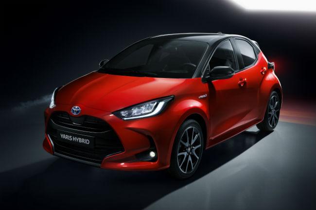 Presentación estática: Toyota Yaris 2020