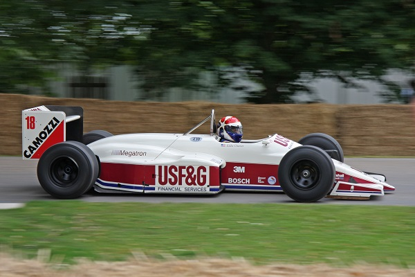 Eddie Cheever - Goodwood 2008