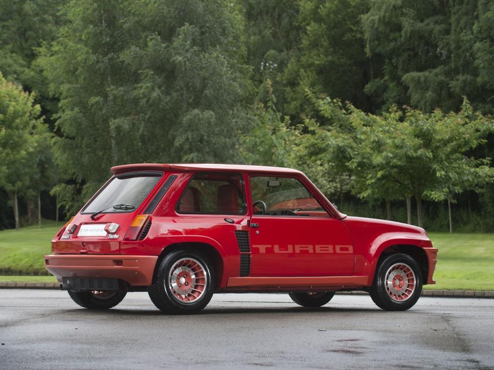 Renault 5 Turbo de Enzo Ferrari
