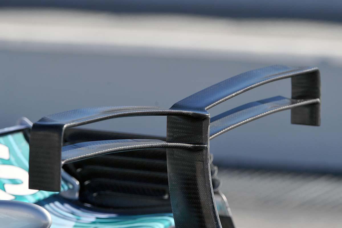 Resultado de imagen de CFD del T-Wing de la Fórmula 1