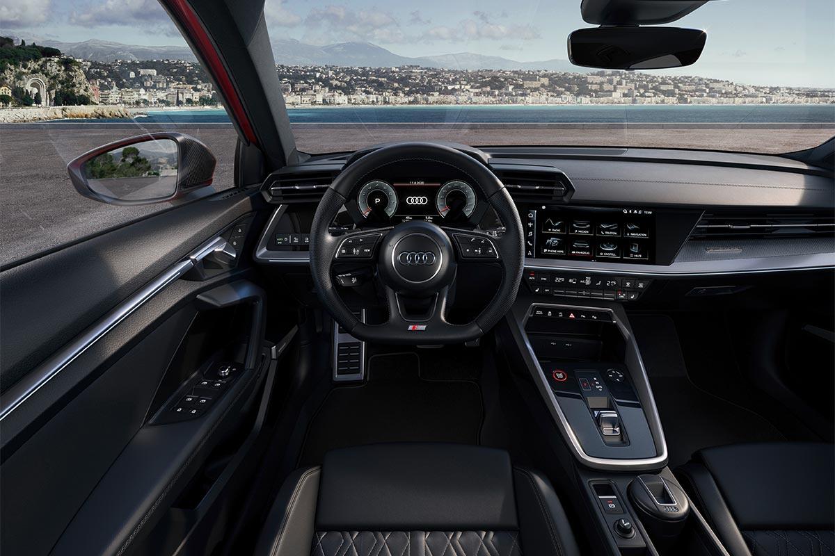 Nuevo Audi S3: 310 CV en versión sedán o 5 puertas Sportback