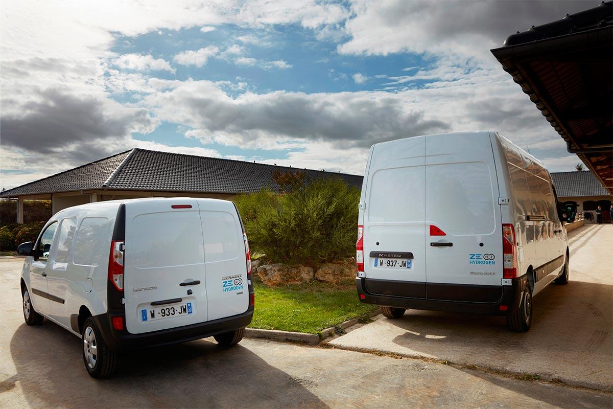 Renault Kangoo y Master ZE Hydrogen: ahora más autonomía