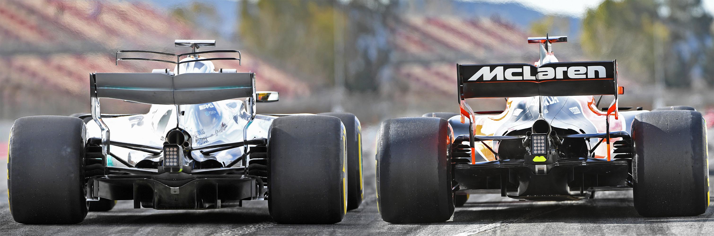 Comparativa McLaren Mercedes