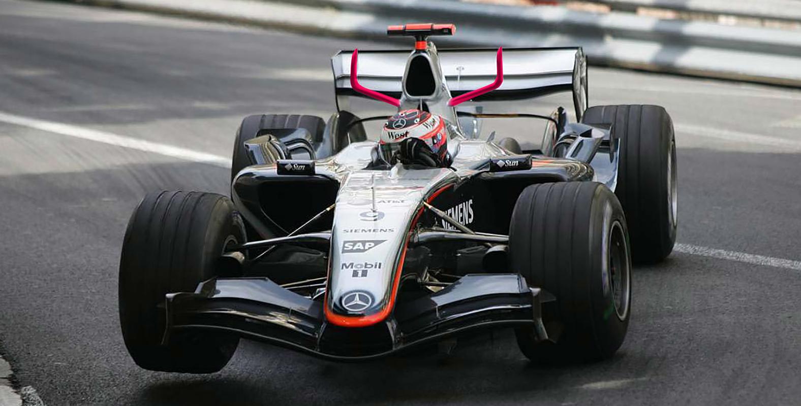 Cuernos McLaren