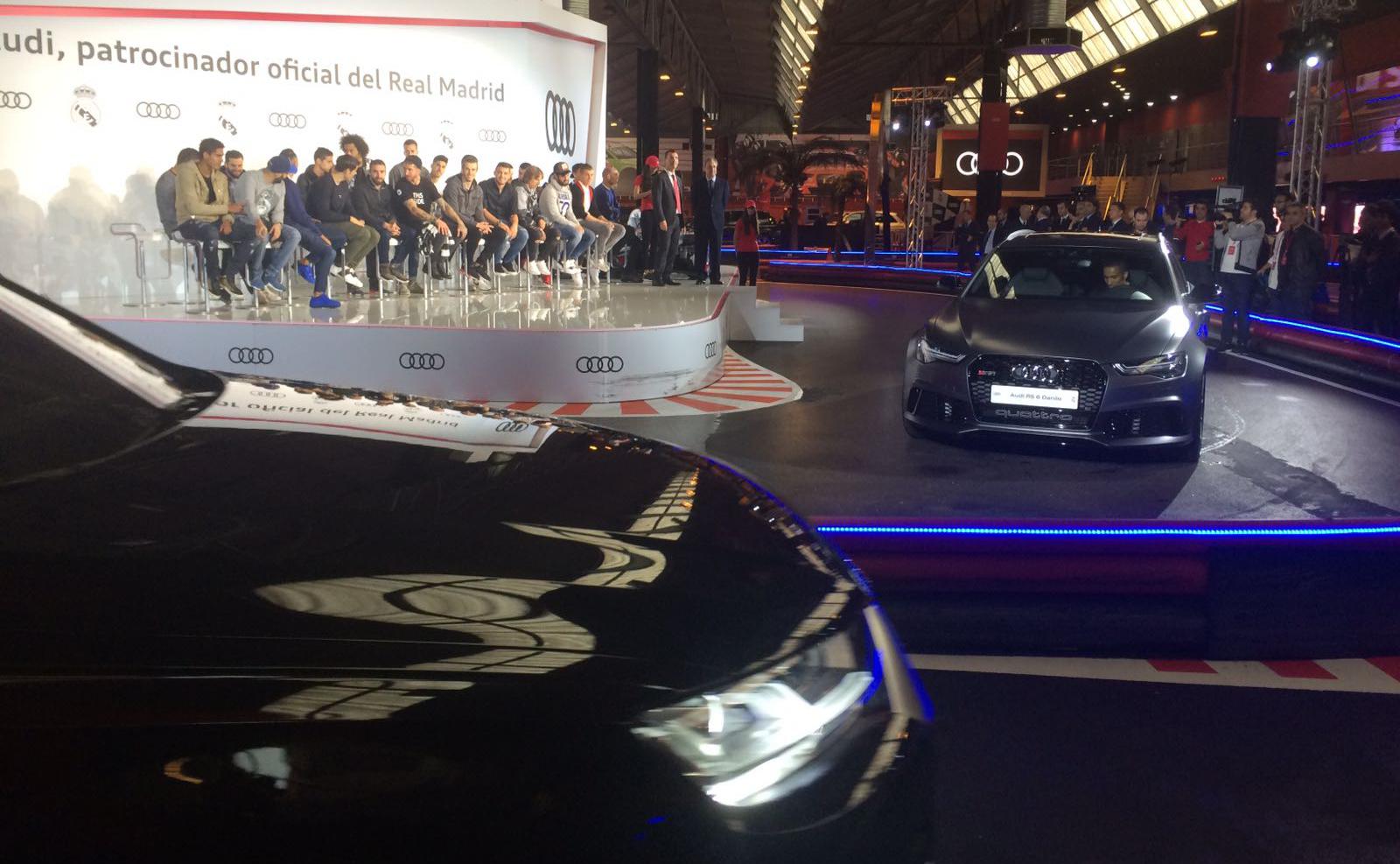 El Real Madrid recoge sus nuevos Audi en el karting Carlos Sainz ...