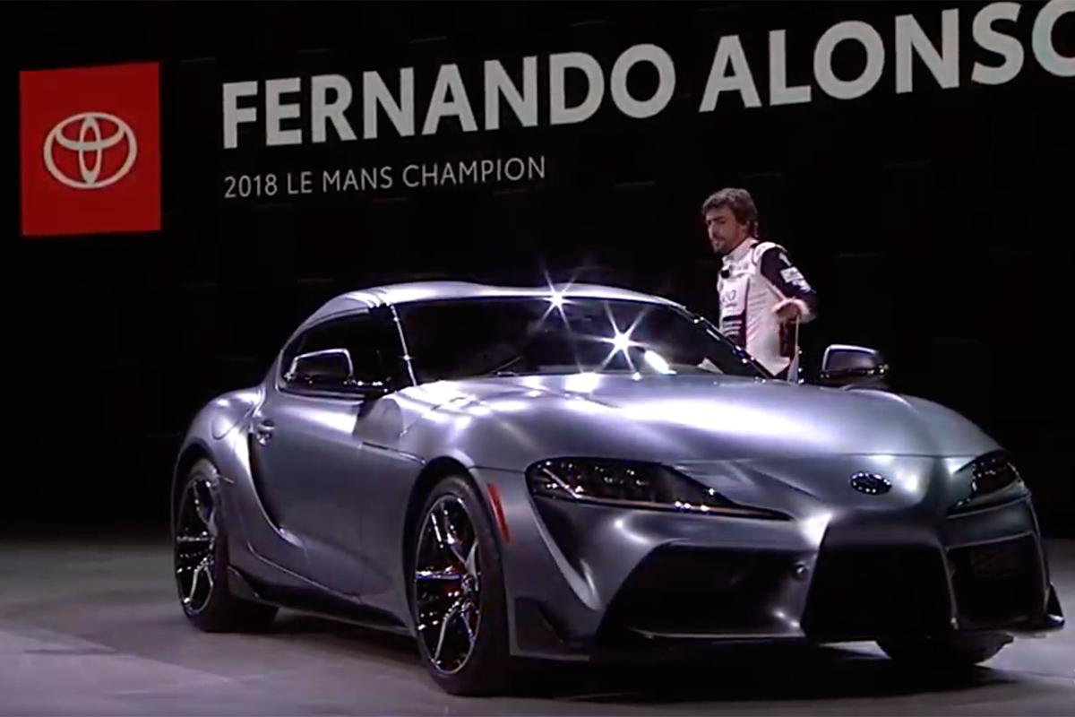 Toyota calentó el frió auto show de Detroit con el nuevo Supra