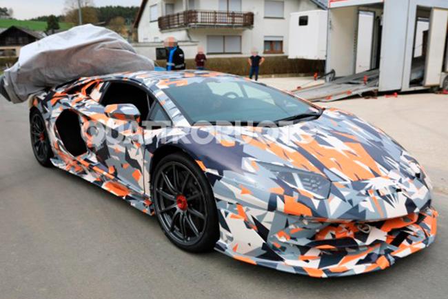 Imagenes De Un Lamborghini: Lamborghini Aventador SVJ: Más De 800 Caballos
