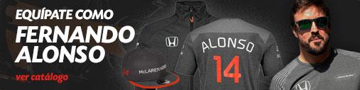 Merchandising Fernando Alonso