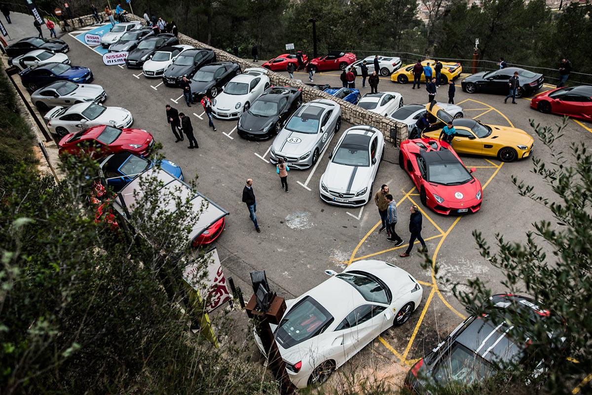 6to6 Motor Valencia en el castillo de Xàtiva