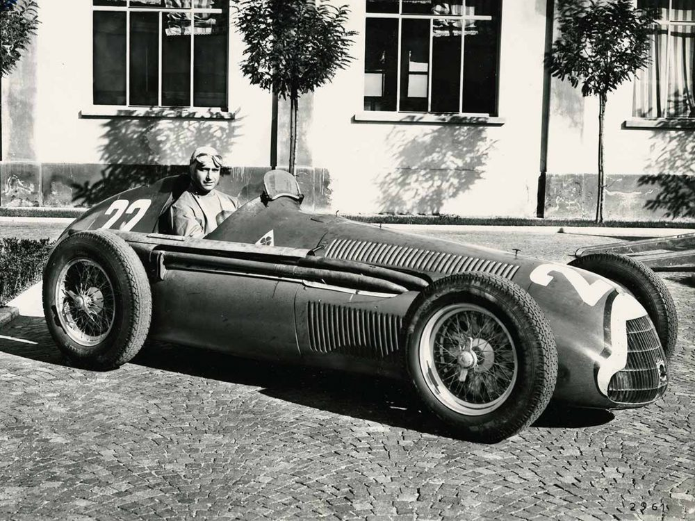 Alfa Romeo 158 - Fangio