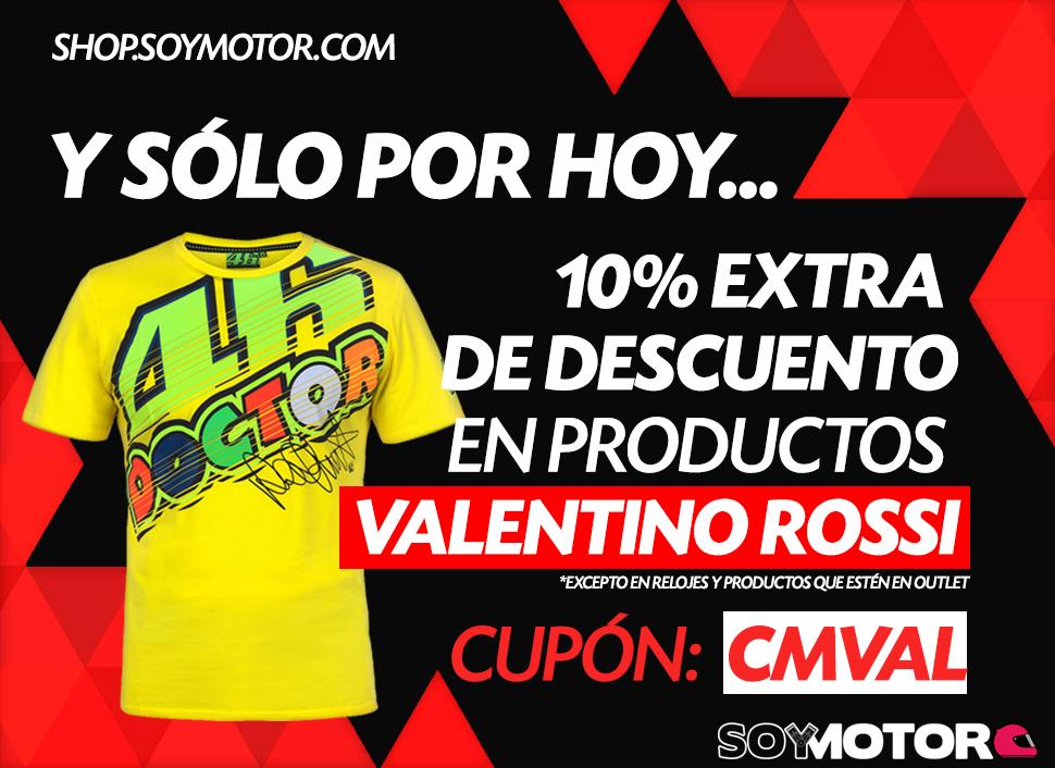 Cyber Monday en Shop.soymotor.com – oferta especial en Valentino Rossi–