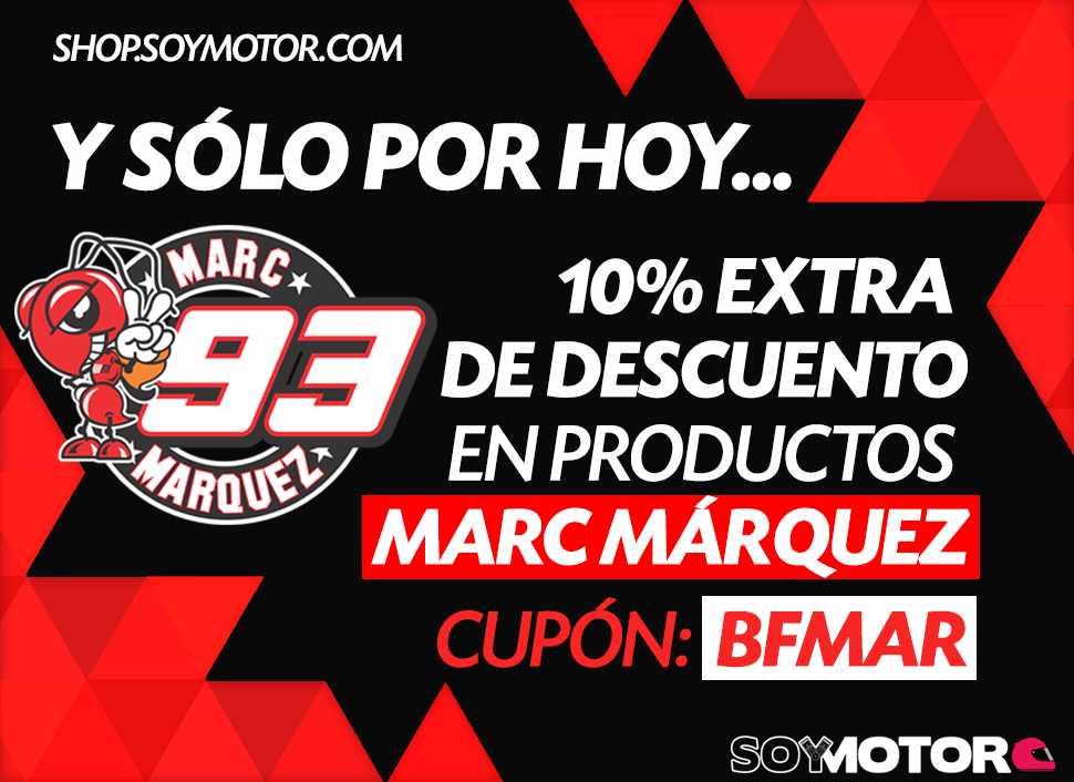 Black Friday: descuentos Marc Márquez merchandising