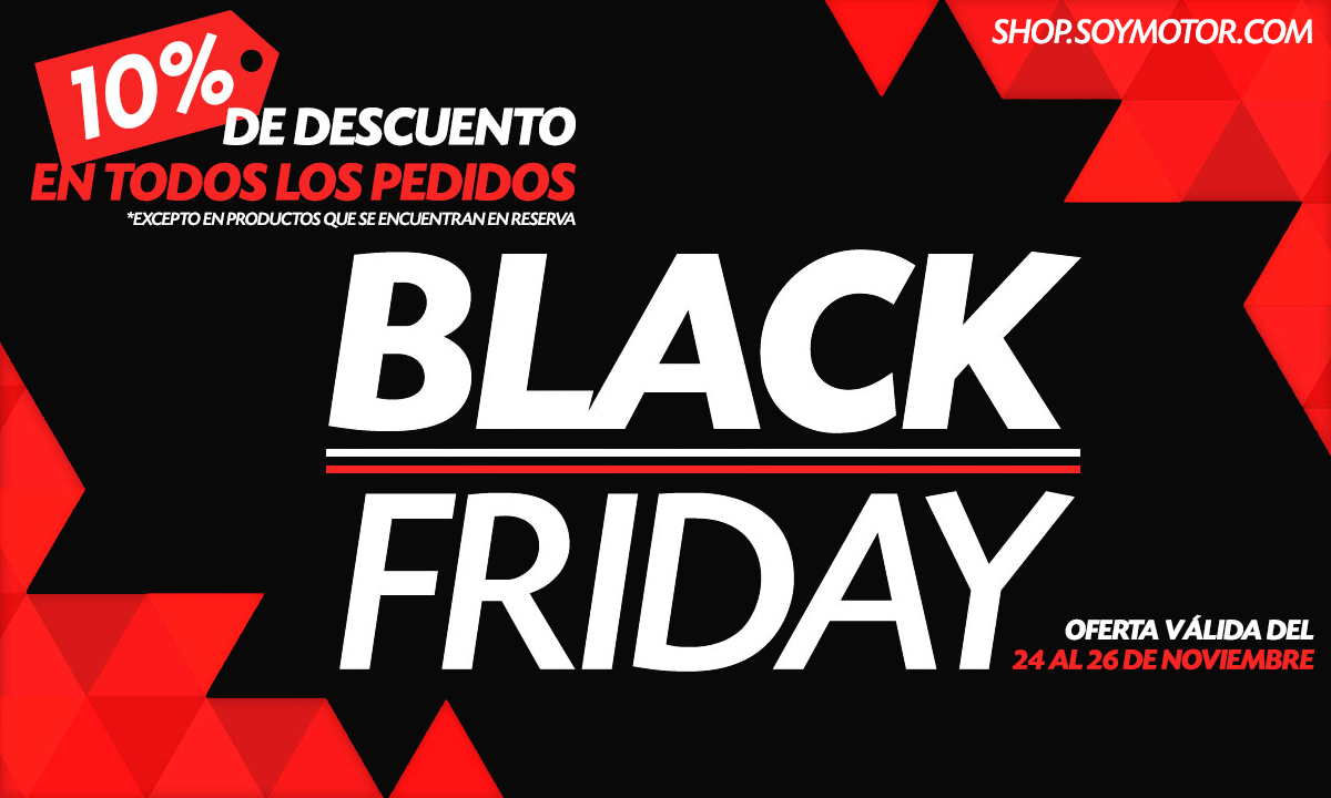 BLACK FRIDAY en shop.soymotor.com