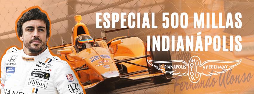 Especial 500 Millas de Indianápolis en SoyMotor.com