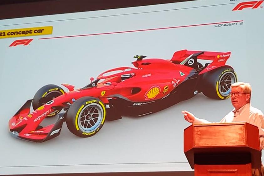Así de futuristas serán los Fórmula 1 a partir del año 2021