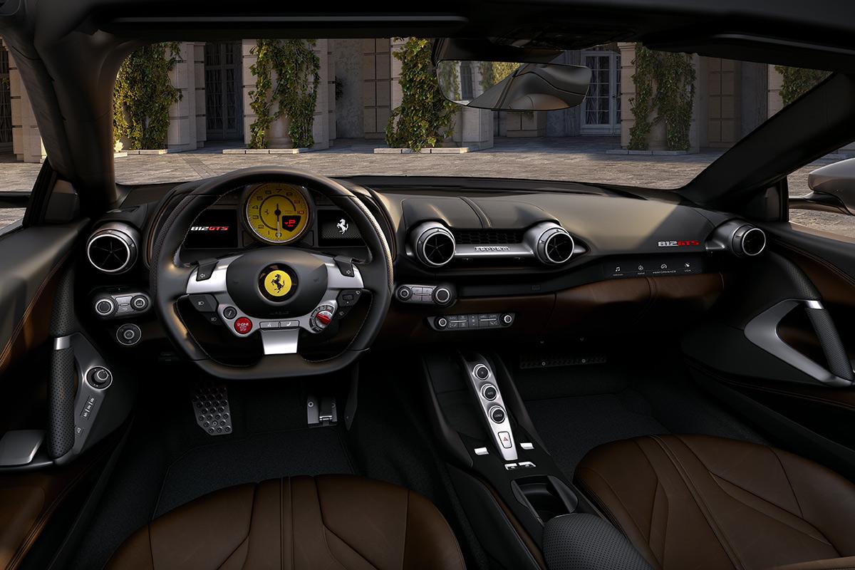 Ferrari 812 Gts 2020 El Regreso Del Motor V12 Delantero En Un Spider Soymotor Com