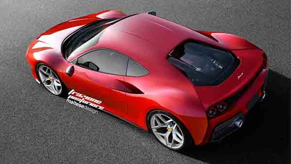 Render Ferrari Dino