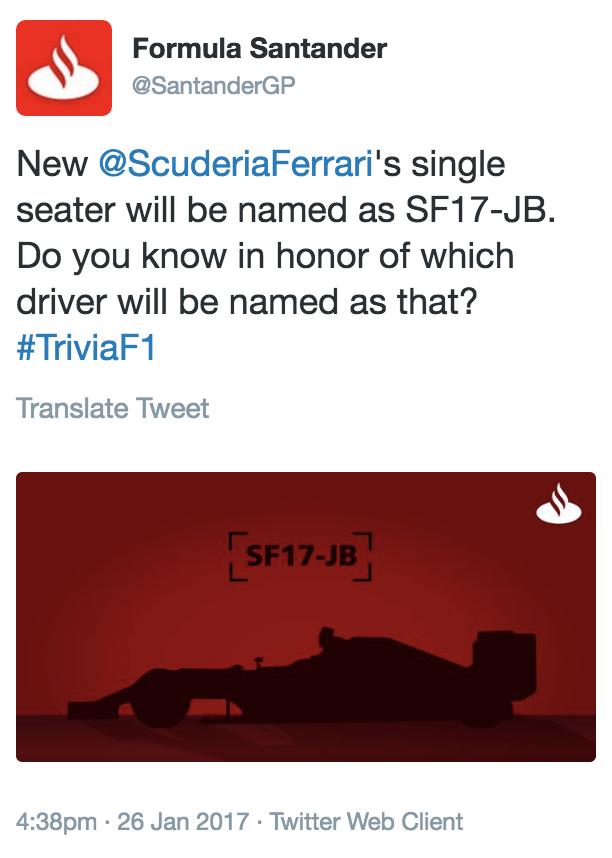 Ferrari SF17-JB