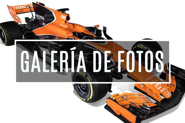 Galería de fotos del McLaren MCL32