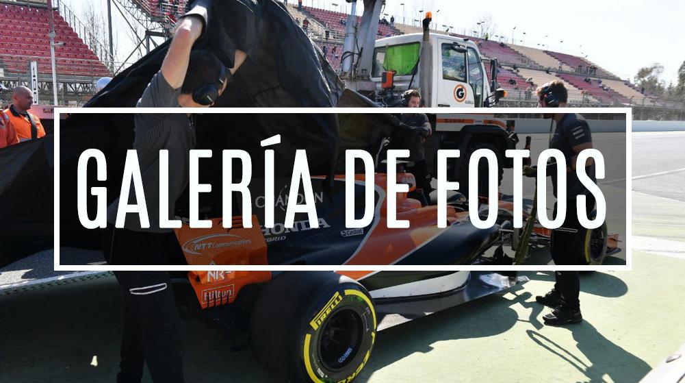 Galería de fotos día 7 Test F1 Barcelona