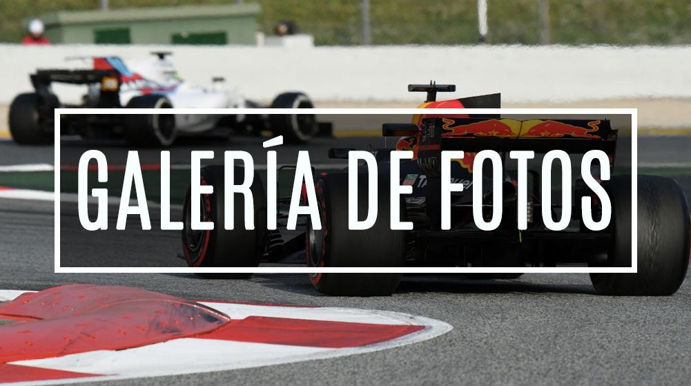 Galería de fotos del día 5 de test F1 en Barcelona